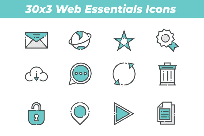 Thumbnail for Web icons
