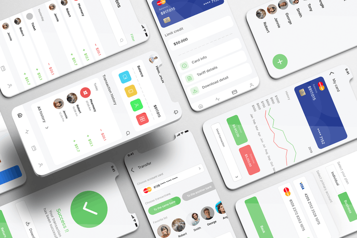 Thumbnail for Finanza UI Kit - Dating Apps