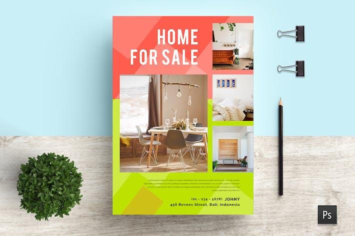 Thumbnail for Ukir Professional Real Estate Flyer