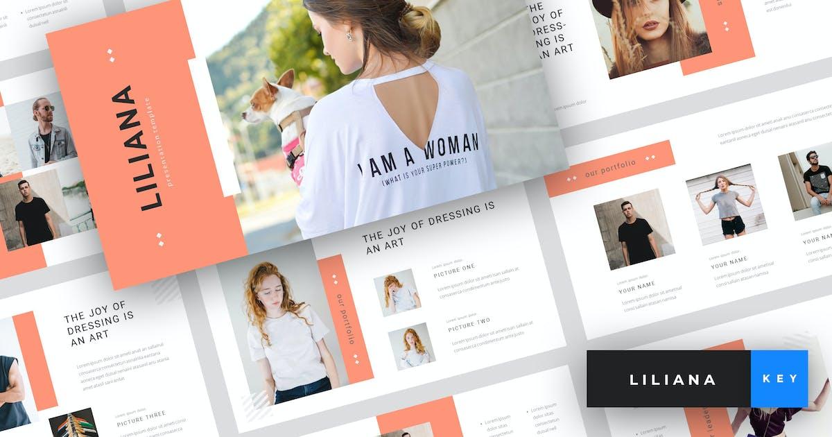 Download Liliana - Fashion Keynote Template by StringLabs