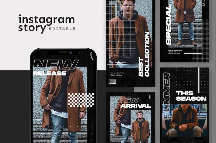 Thumbnail for Instagram Story-Vorlage