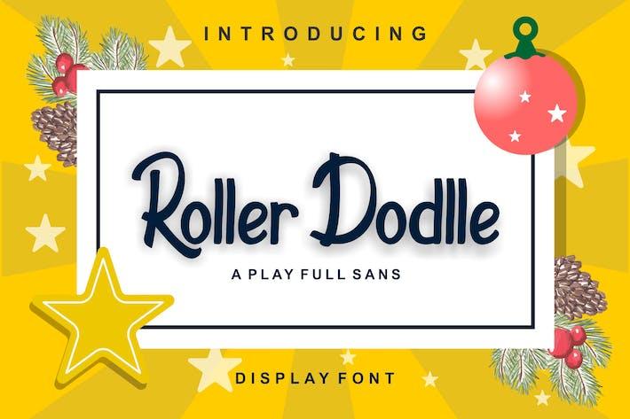 Roller Dodlle Dislpay Font