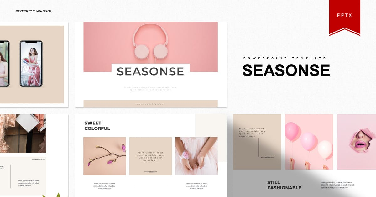 Download Seasone   Powerpoint Template by Vunira