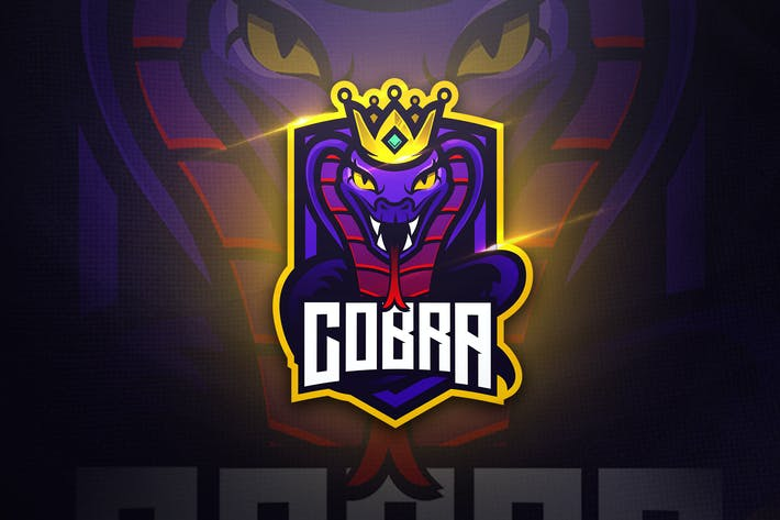 cobra mascot esport logo by aqrstudio on envato elements cobra mascot esport logo by aqrstudio on envato elements