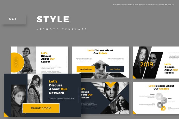 Thumbnail for Style - Keynote Template