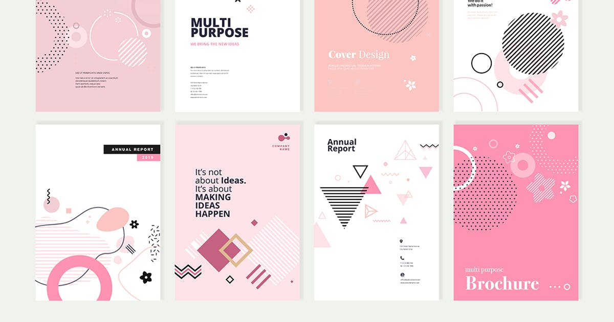 Download Beauty brochure, annual report, cover designs by PureSolution