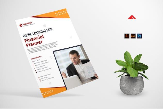 Finance Company Job Hiring Advertisement