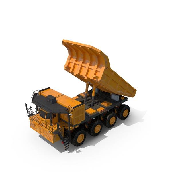 Горный грузовик Хоппер вверх