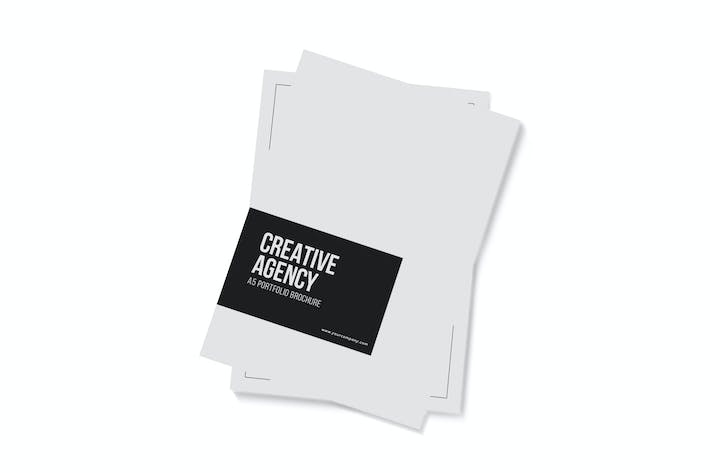 Thumbnail for Creative Agency - A4 Portfolio Brochure