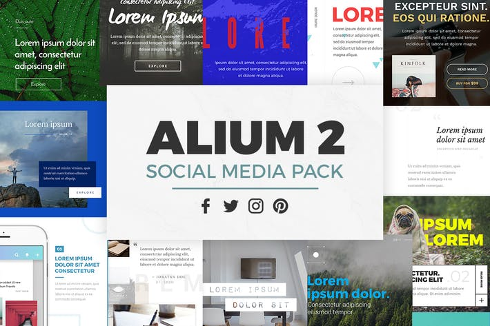 Thumbnail for ALIUM 2 - Social Media Pack