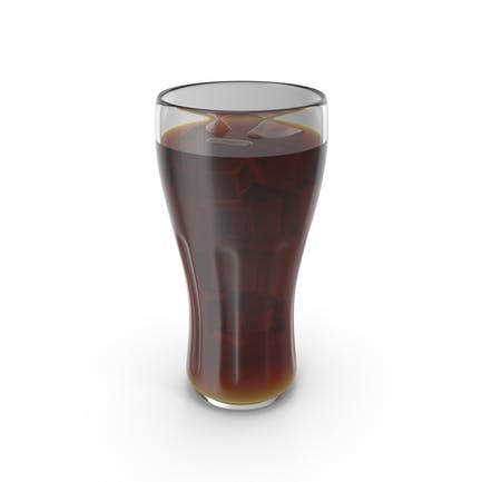 Glass Cola With Ice