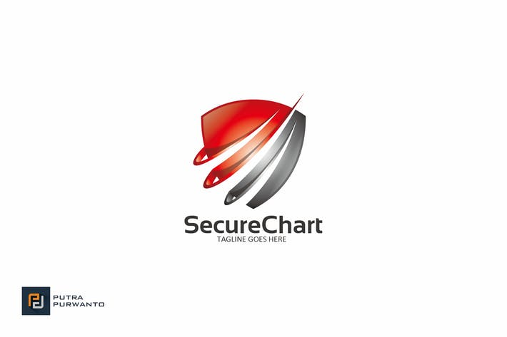 Thumbnail for Secure Chart - Logo Template