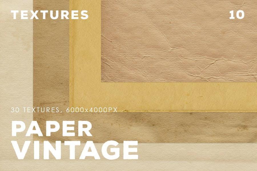 30 Vintage Paper Textures | 10