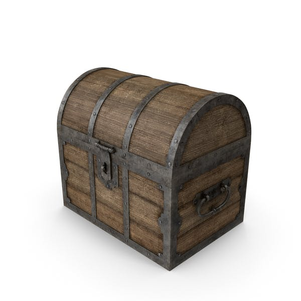 Cover Image for Old Wooden Chest