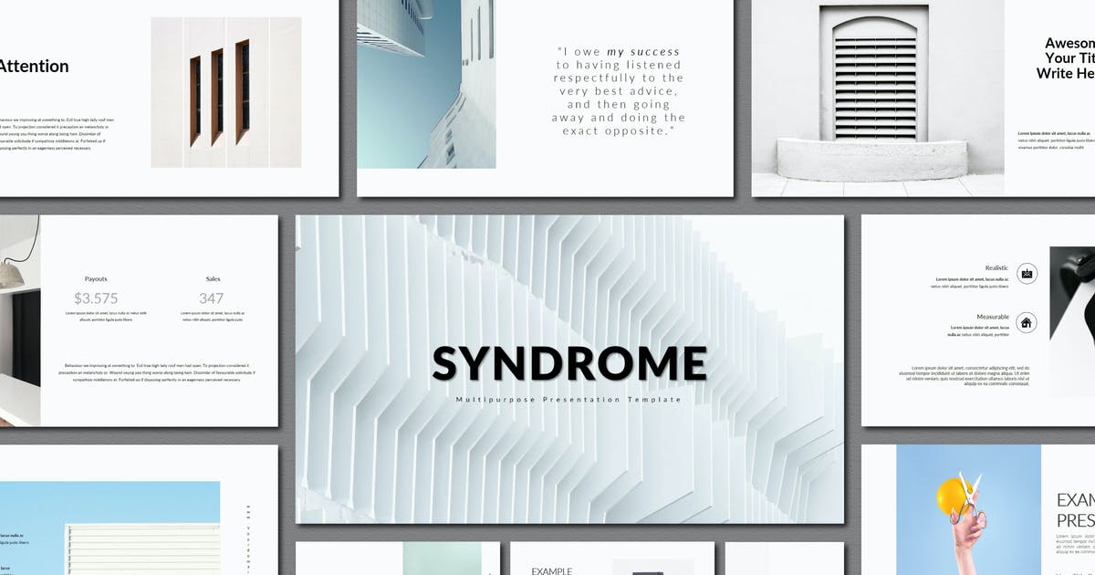 Download Syndrome | Powerpoint Templates by amarlettering