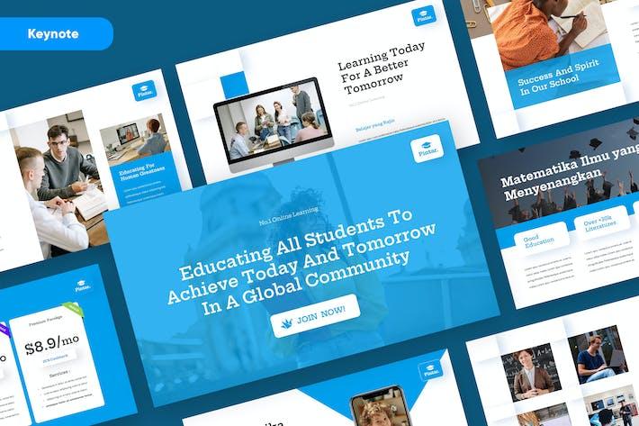 Thumbnail for PINTAR - Шаблон презентации основного доклада для образовательных заметок