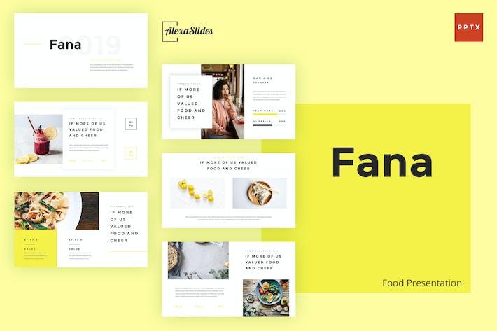Thumbnail for Fana - Plantilla de PowerPoint de alimentos
