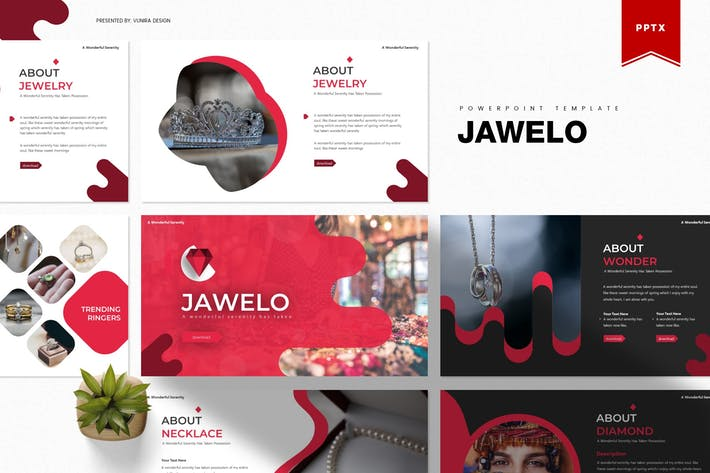 Thumbnail for Jawelo | Powerpoint Template