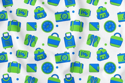 Travel Seamless Pattern Vol. 1