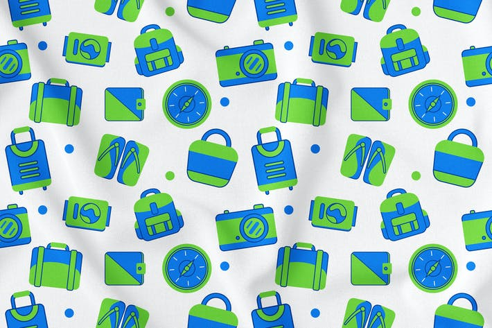 Thumbnail for Travel Seamless Pattern Vol. 1