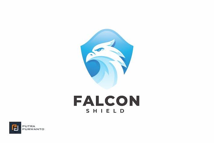 Thumbnail for Falcon Shield - Logo Template