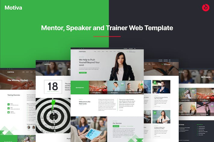 Motiva - Mentor, Coach and Speaker Web Template