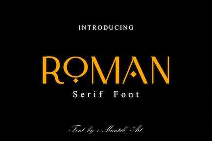 Roman | Modern Serif Font