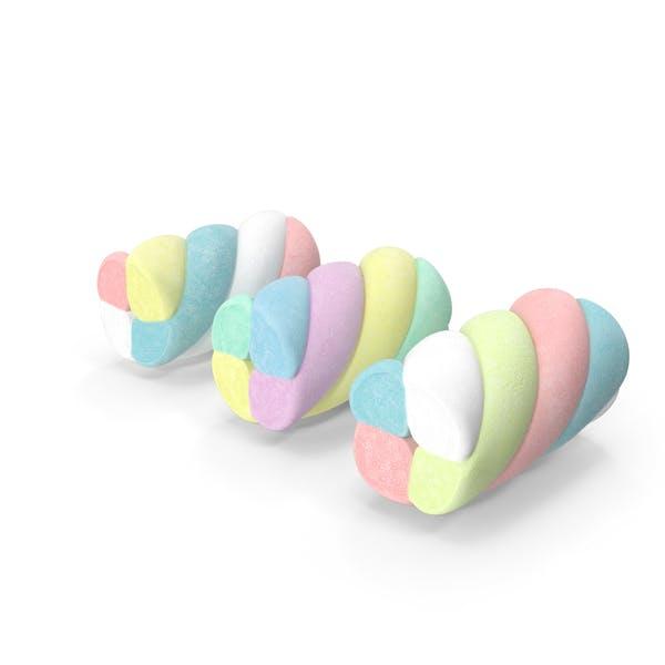 Разноцветные повороты зефира