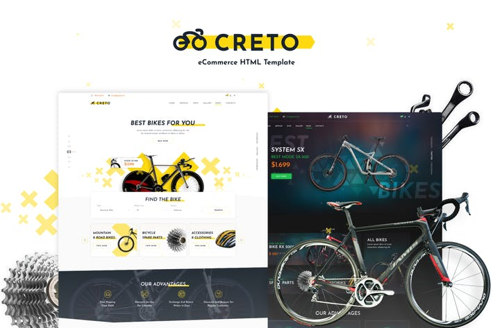 Thumbnail for Creto | eCommerce HTML Template