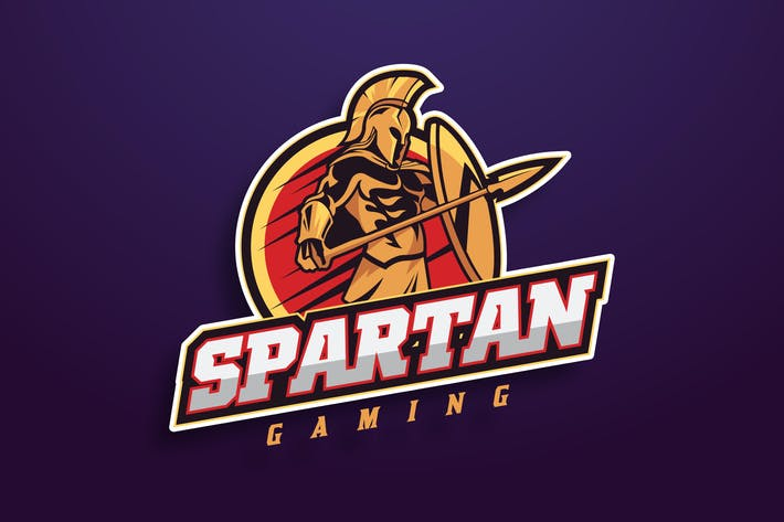 Thumbnail for Spartan Warrior Sport And Esport Logo Vector