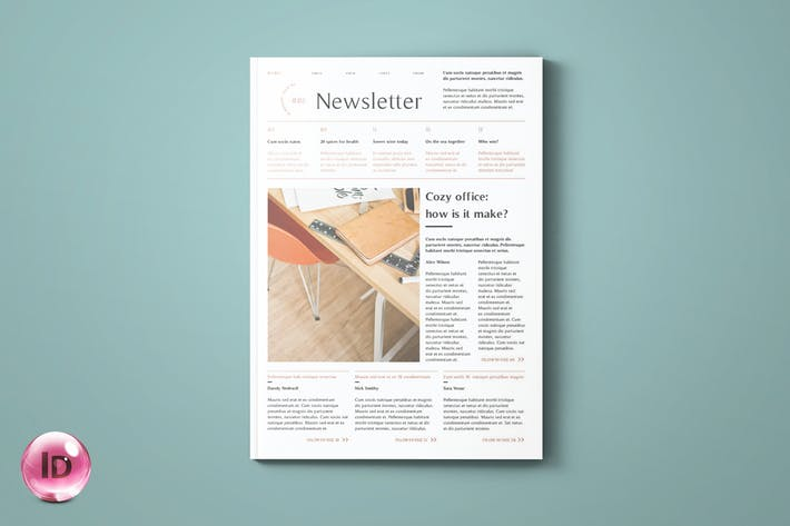 Thumbnail for Newsletter Template