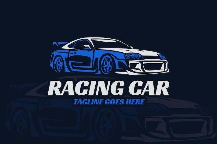 Thumbnail for Racing Car Elegant Logo Template