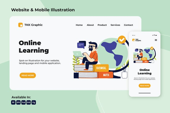Thumbnail for Online learning globalization web and mobile