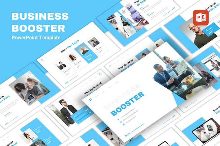 Cover Image For Business Booster - Multipurpose PowerPoint
