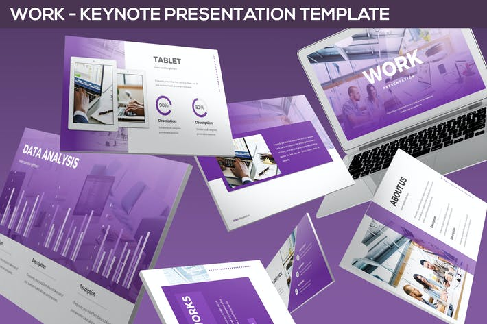 Thumbnail for Work - Keynote Presentation Template