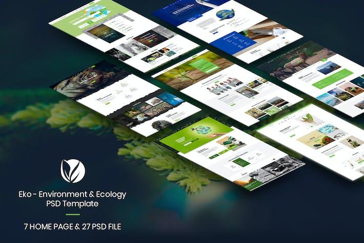 Thumbnail for Eko - Environment & Ecology PSD Template
