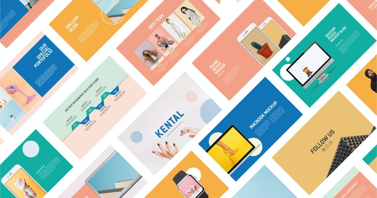 Download Kental   Powerpoint Templates by amarlettering