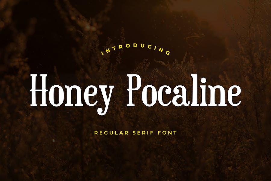 Honey Pocaline Serif Font