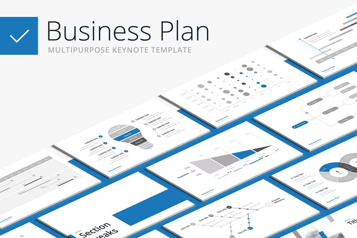 Cover Image For Business Plan - Multipurpose Keynote Template
