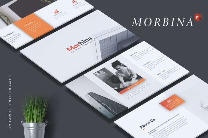 Thumbnail for MORBINA - Company Profile Powerpoint Template