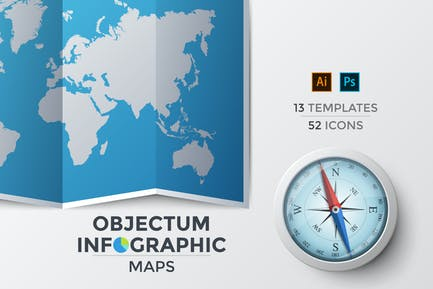 Objectum Infographic: Maps