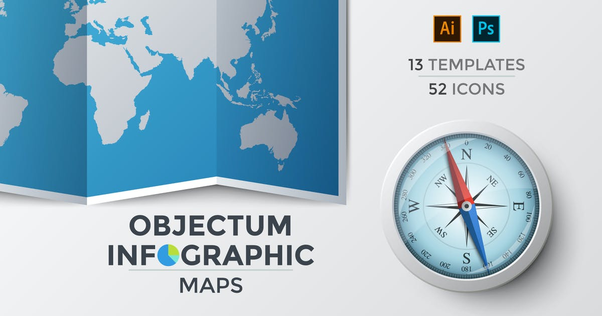 Download Objectum Infographic: Maps by Andrew_Kras