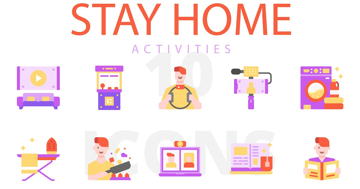 Download Stay home activities by linector