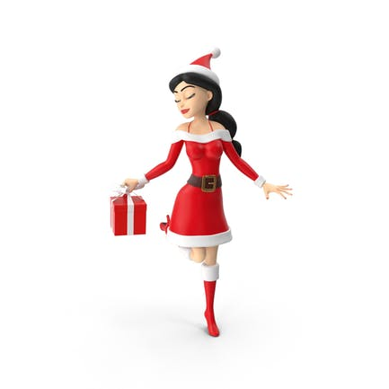 Санта женщина