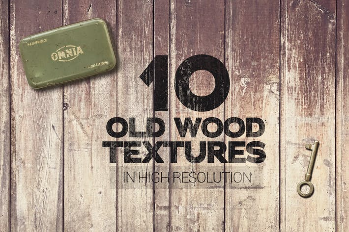 Cover Image For Old Wood Textures x10