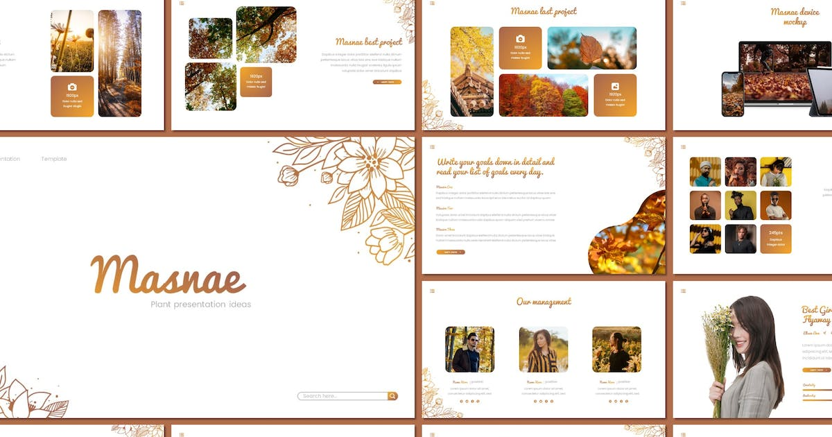 Download Masnae - Powerpoint Template by inspirasign