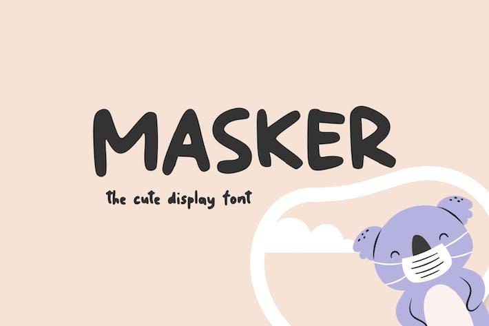 Thumbnail for Masker - La fuente de pantalla linda