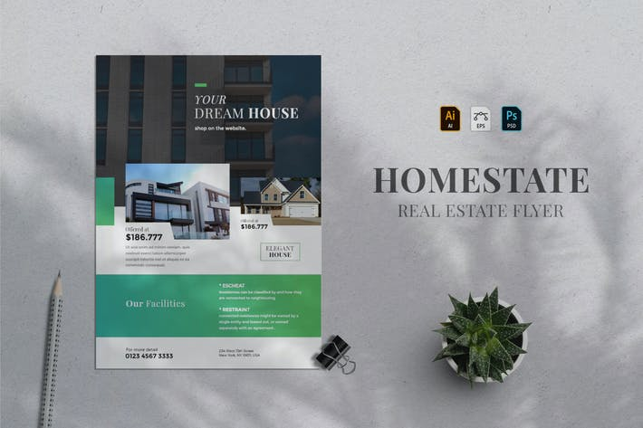 Thumbnail for Real Estate Flyer 01