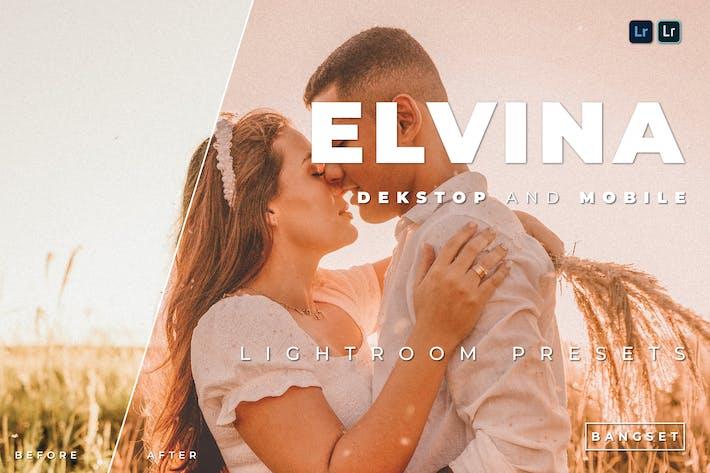 Elvina для настольных и мобильных устройств Lightroom