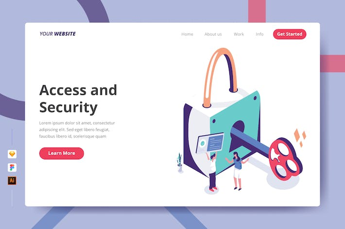 Thumbnail for Access and Security - Landing Page